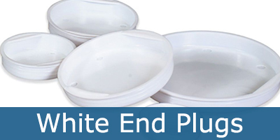 White End Plugs